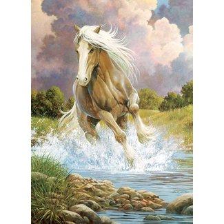 Cobble Hill Puzzels, Legpuzzels - rivier paard, 1000 stukjes (River Horse)