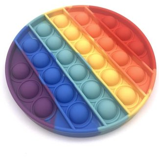 Colourfam Pop it rond- regenboog