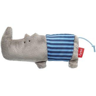 Sigikid grijpspeeltje neushoorn met rammelaar
