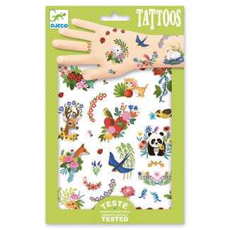 Djeco Djeco Body Art - Tattoos Happy spring