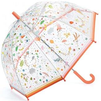 Kinderparaplu - in de lucht