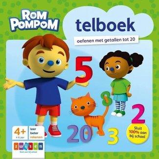Zwijsen Rompompom telboek. 4+
