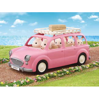Sylvanian Families familie picknick auto