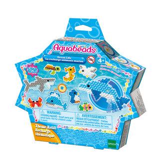 Aquabeads Aquabeads Knutselen, Knutselpakketten - navulling zee dieren