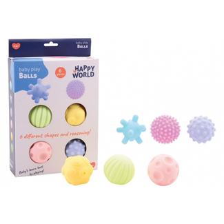 Babyspeelgoed - Senso speelballen set van 6