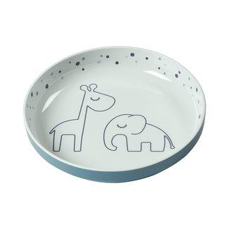 Done by deer Kinderservies - Dreamy Dots klein bord, blauw (Yummy mini plate, blue)