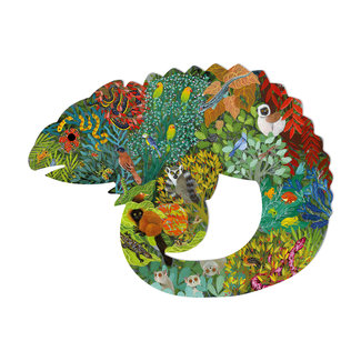 Djeco Djeco Puzzles - Puzz'art Chameleon