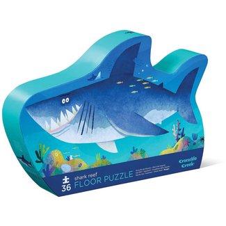 Crocodile Creek Puzzel - Vloerpuzzel Haaien riff, 36 stukjes (Shark Reef)