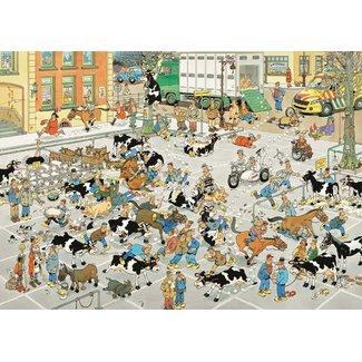 Jumbo Puzzels, Legpuzzels - Jan van Haasteren De Veemarkt, 1000 stukjes