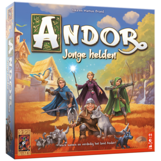 999 Games De Legenden van Andor: Jonge Helden - Bordspel