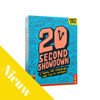 999 Games 20 Second Showdown - Actiespel, Partyspel