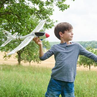 HABA Terra Kids sport en spel - maxi-werpvliegtuig