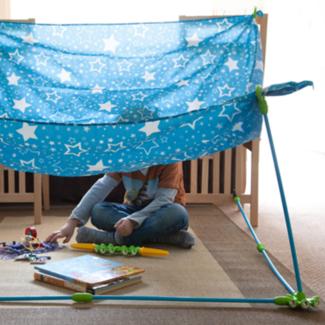 Pl-ug Buitenspeelgoed Tent - bouw je eigen tent kit (extra)