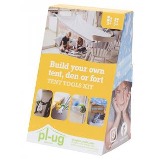 Pl-ug Buitenspeelgoed Tent - bouw je eigen tent kit
