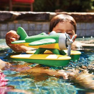Greentoys Buitenspeelgoed - watervliegtuig groen (Seaplane - green wings)