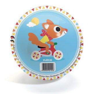 Djeco Buitenspeelgoed - bal 12 cm racen (Cute Race)