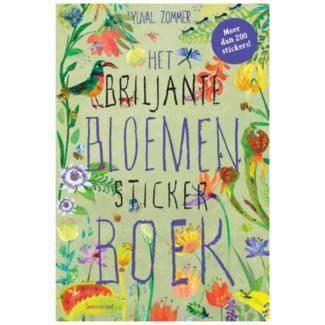Lemniscaat Boek, Stickerboek - Het Briljante Bloemen stickerboek