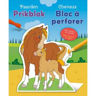 Deltas Knutselen - Prikblok Paarden