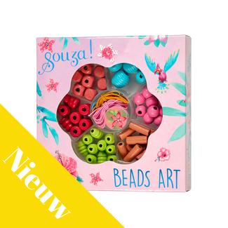 Souza! Knutselen, Rijgkralen - Bloemen (Beads activity kit flowers)