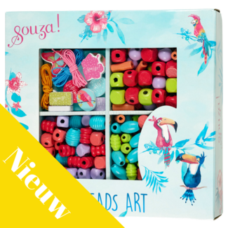 Souza! Knutselen, Rijgkralen - Luxe box (Beads activity box)