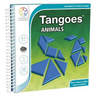 SmartGames Magneet puzzel, spel - Tangoes Animals (48 opdrachten)