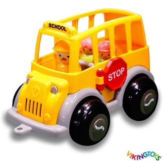 Viking Toys Auto's en voertuigen - Schoolbus