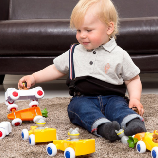 Viking Toys Auto's en voertuigen - Raceauto wortel