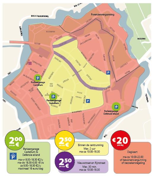Wijziging in parkeren Woerden, vanaf 3 mei a.s.