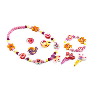 Djeco Djeco Role play - Charms Jewels - Wood flower