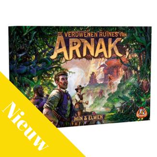 White Goblin Games Spellen, Bordspel - De verdwenen Ruïnes van Arnak
