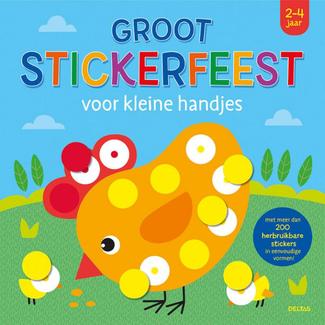 Deltas Boeken, Stickerboeken - Groot stickerfeest voor kleine handjes (2-4 jr.)