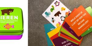 Review '50 spelletjeskaarten Dieren' - Image Books