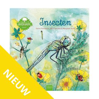 Clavis Boeken, Prentenboek - Willewete Insectenl (5+ jr.)