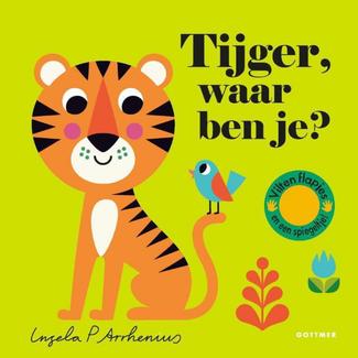 Gottmer Boeken, Karton boeken - Vilten flapjesboek Tijger, waar ben je? (2+ jr.)