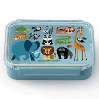 Crocodile Creek Lunchtrommel - Bento Box Jungle (Jungle Friends)