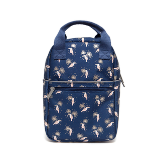 Petit Monkey Rugzak - kinderrugtas toekans blauw (toucans L)