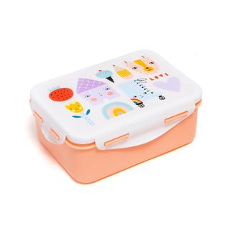 Petit Monkey Lunchtrommel - lunch box skate & house