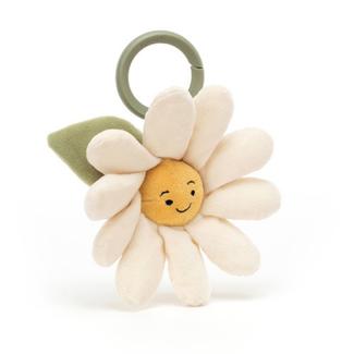 Jellycat Babyspeelgoed, trilfiguur - bloem daisy (Fleury Daisy Jitter)