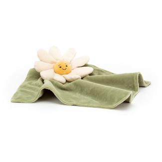 Jellycat Knuffeldoekje - bloem Daisy