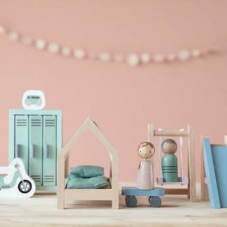 Little Dutch Poppenhuis accessoires - uitbreidingsset kinderkamer