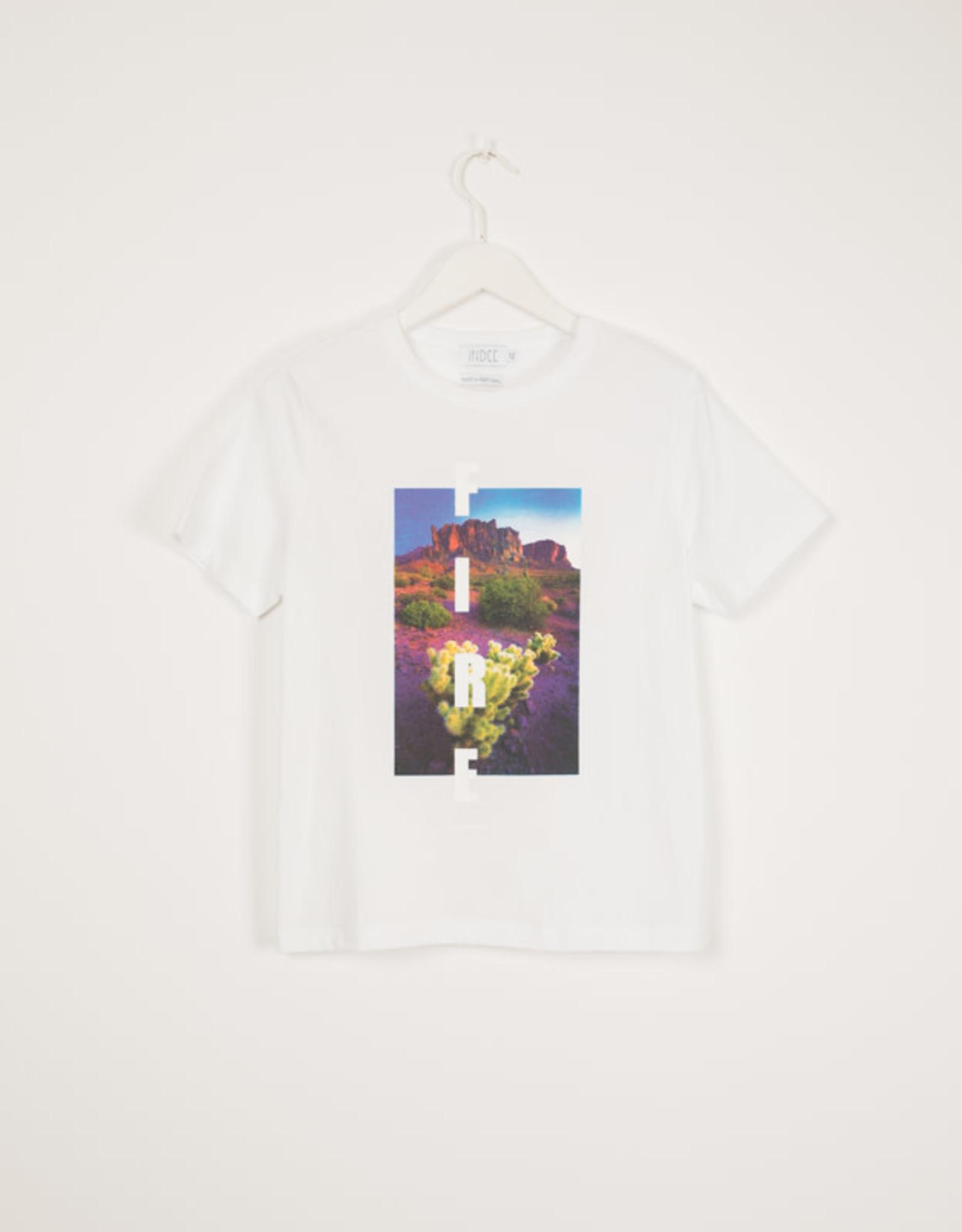 INDEE T-shirt Isabella Arizona white