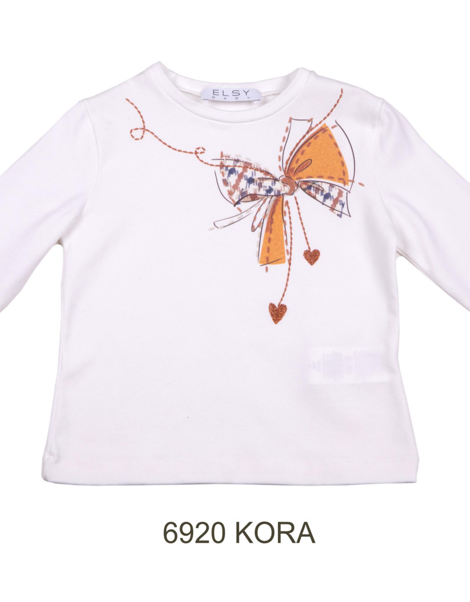 ELSY Kora T-Shirt Jersey Yogurt