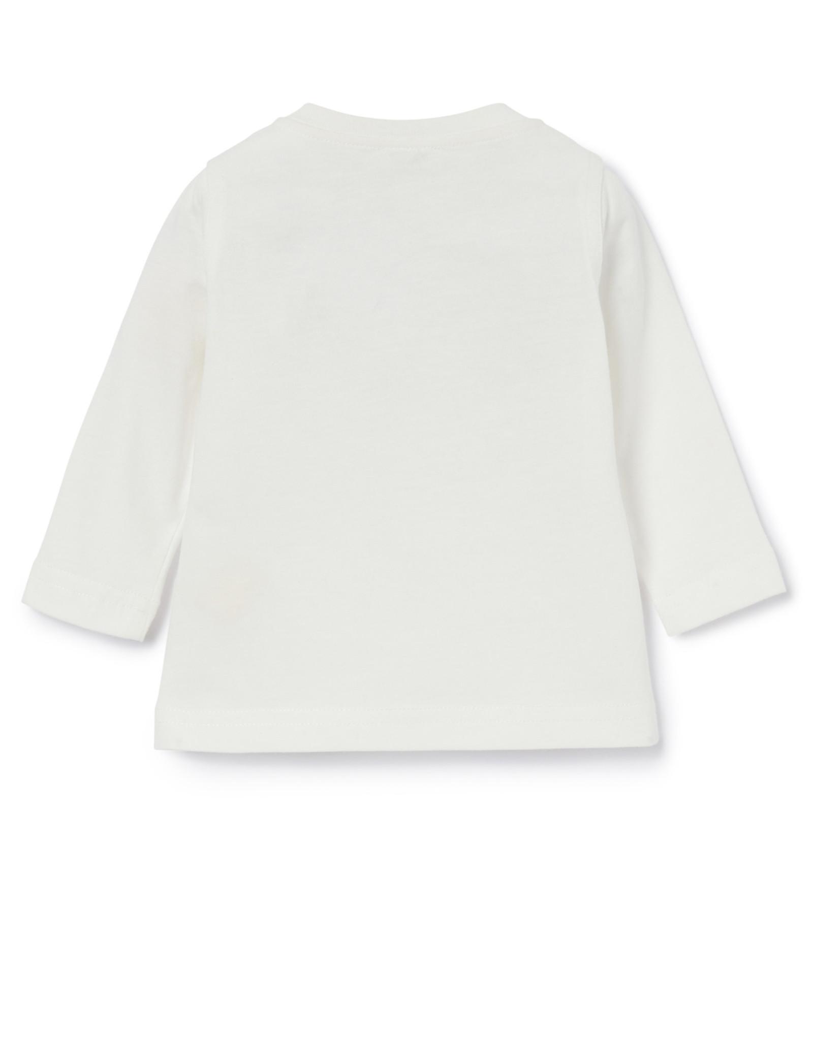 IL GUFO T-Shirt L/S Milk/Quartz Pink