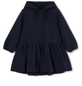 IL GUFO Dress L/S Navy Blue/Navy Blue