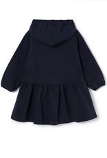 IL GUFO Dress L/S Navy Blue/Navy Blue