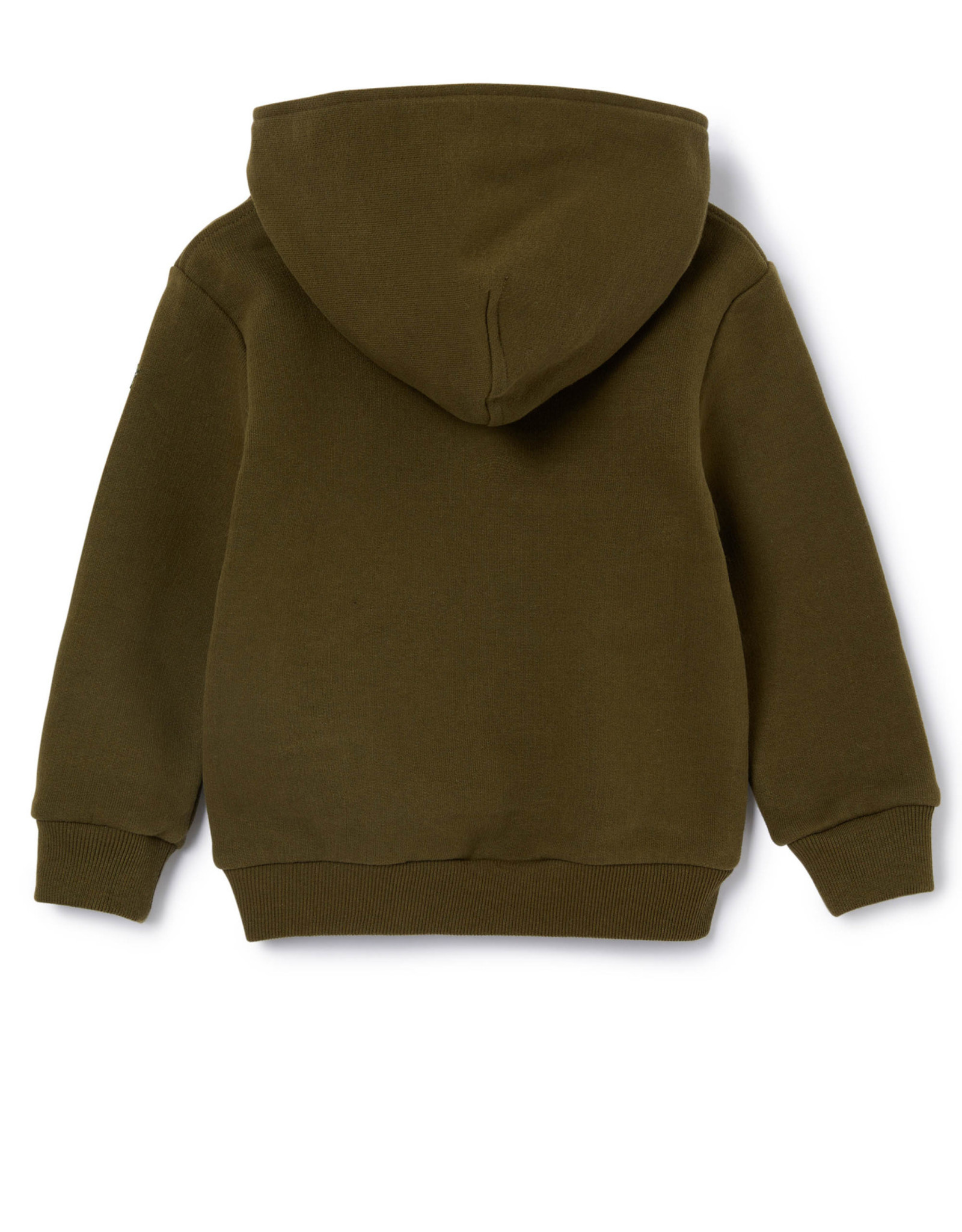 IL GUFO Cotton Sweater Hunter Green/Bran Beige
