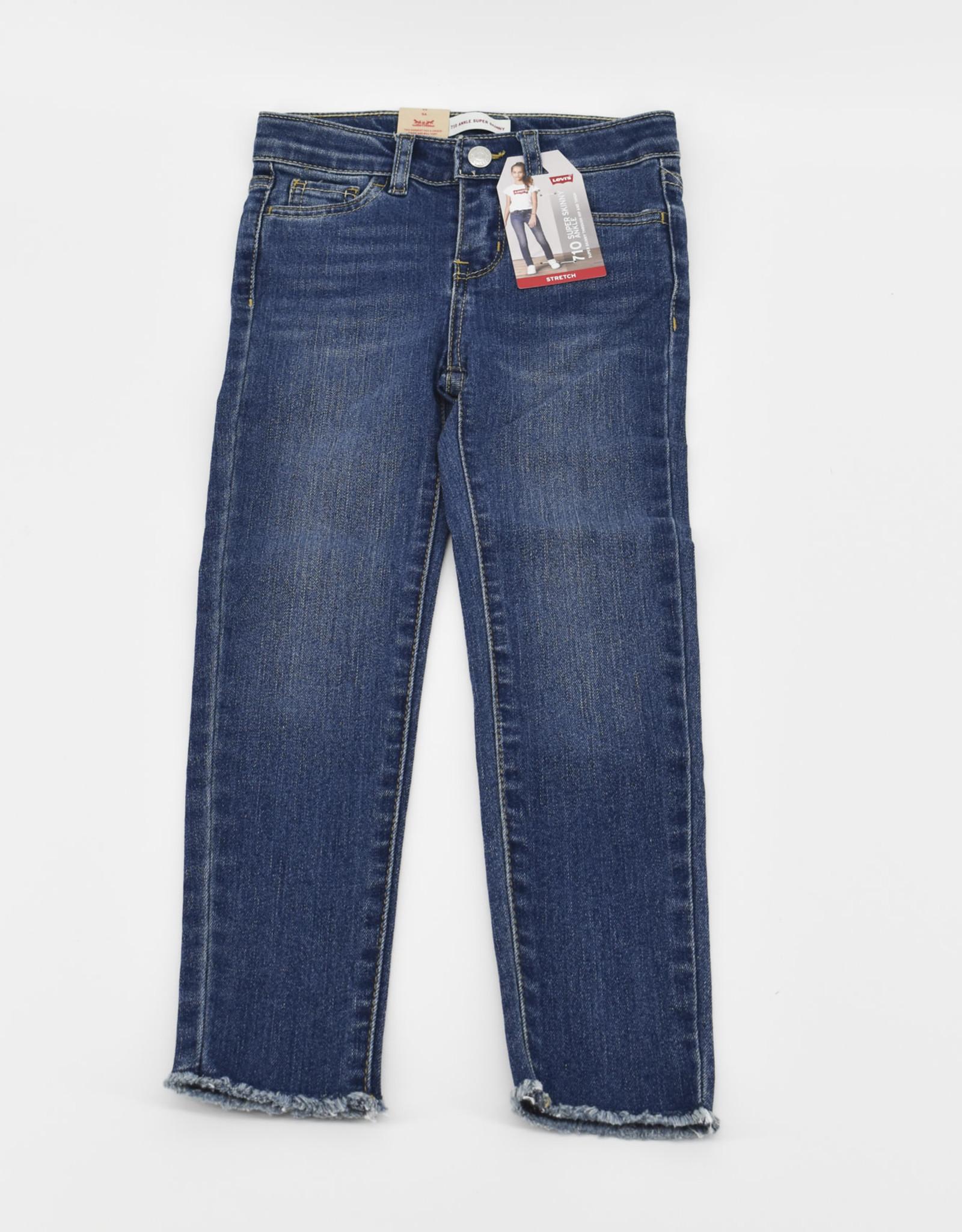 LEVI'S Lvg 710 Skinny Ankle Jeans Sao Paulo