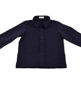 IL GUFO Shirt L/S Navy Blue