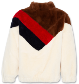 AMERICAN OUTFITTERS mock neck fur Natural