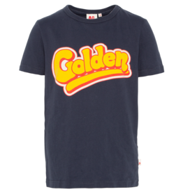 AMERICAN OUTFITTERS c-neck ss t-shirt golden Night blue